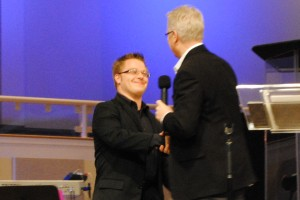 Timothy receives his Master degree in Practical Ministry from Randy Clark